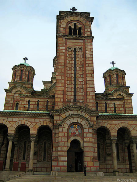 Церковь Святого Марка в Белграде / Фото из Сербии
