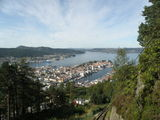 Берген. Вид сверху / Норвегия