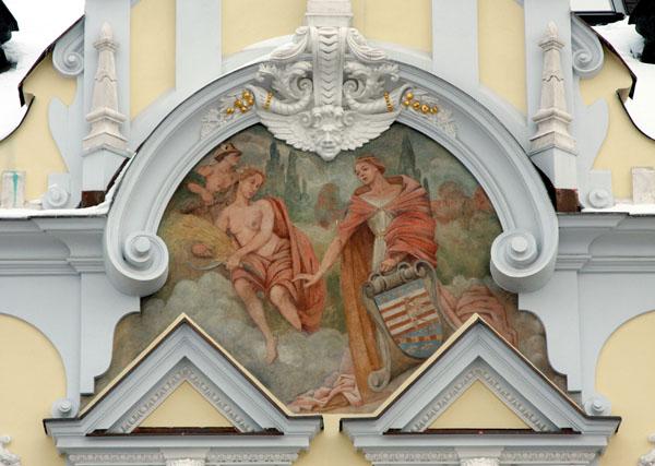 Фасады домов на Главной улице заслуживают внимания, Кошице / Фото из Словакии