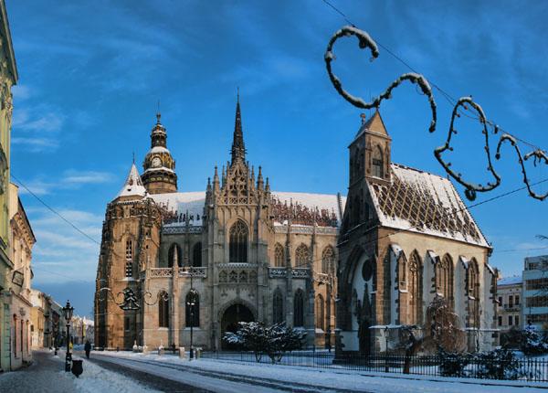 Собор Святой Алжбеты, Кошице / Фото из Словакии
