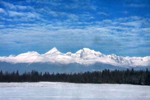 Вид на Татры, Словакия / Фото из Словакии