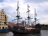Прогулочное пиратское судно / Польша