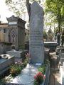 Скромная могила великого Аполлинера  / Франция