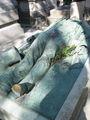 Памятник скандальному журналисту Виктору Нуару  / Франция