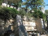 Кладбище расположено на холмистой местности  / Франция