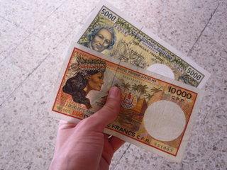 Деньги / Французская Полинезия