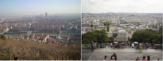 Вид с холмов / Франция