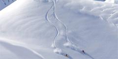 Во Франции прошли снегопады. // Superski.ru
