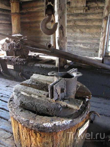 Экспонаты в музее Усть-Боровского солеваренного завода, Соликамск / Фото из России