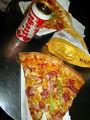 Пицца и напиток / Австрия