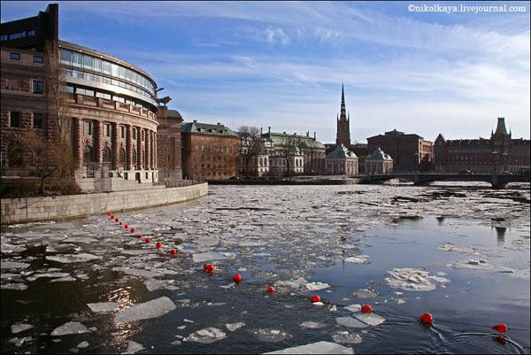 Стокгольм - город на 14 островах / Фото из Швеции