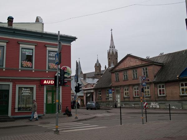 В центре Старого города в Лиепае / Фото из Латвии