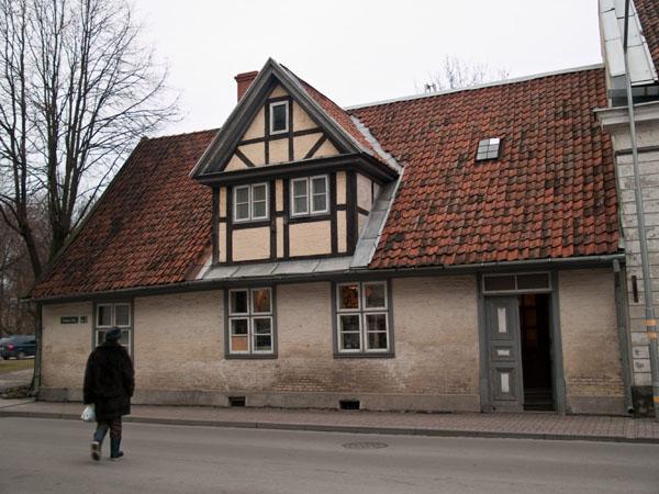 Старинный дом с сувенирным магазином, Лиепая / Фото из Латвии