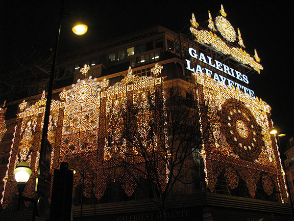 """Галереи Лафайет"" - самый известный унимерваг Парижа / Фото из Франции"