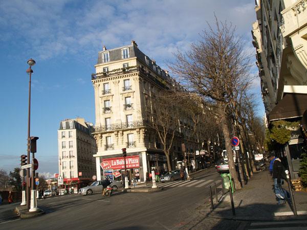 Зима в Париже / Фото из Франции