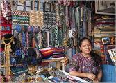 На рынке сувениров / Гватемала