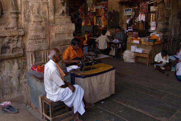 Рынок в городе Мадурай, Индия / Фото из Индии