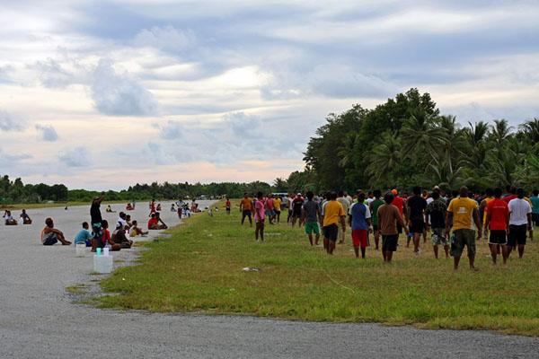 Международный аэропорт Тувалу - не только для взлета и посадки самолетов / Фото из Вануату