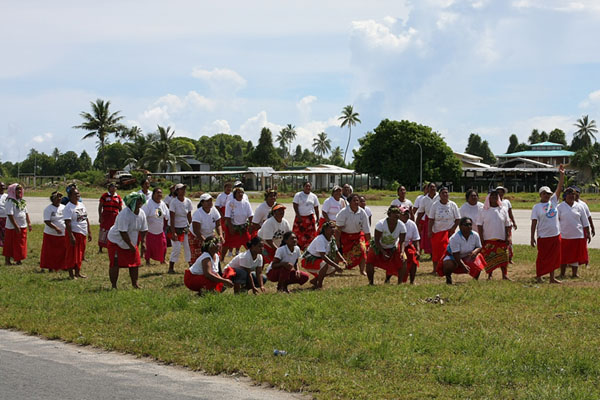 Женщины вместе с мужчинами предпочитают не играть, Тувалу / Фото из Вануату