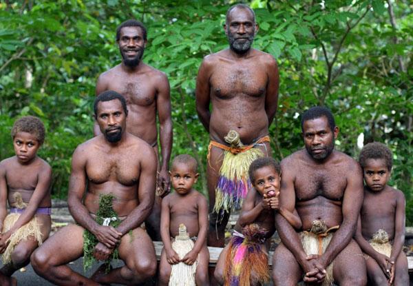 Вануату знаменит племенами людоедов / Фото из Вануату