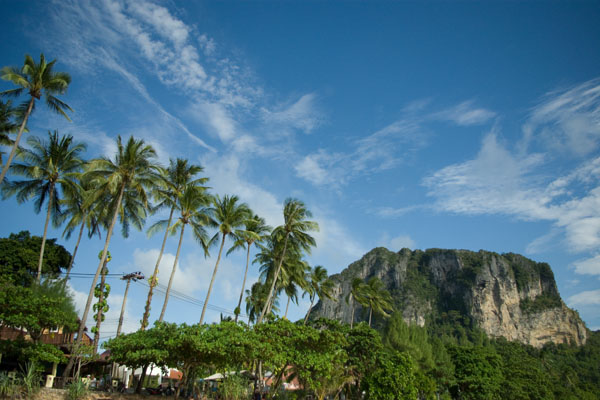 Краби - идеальное место для нескучного пляжного отдыха / Фото из Таиланда