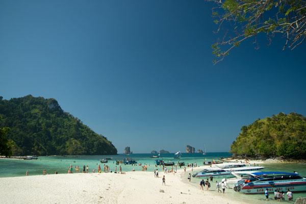Песчаные дорожки между островками и Ко-Тап / Фото из Таиланда
