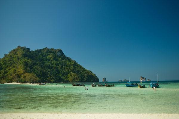 После полудня начинается прилив, Ко-Тап / Фото из Таиланда