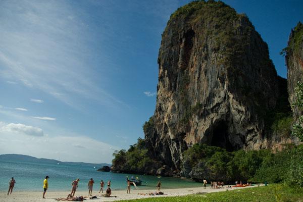 Пхрананг считается одним из красивейших пляжей Краби / Фото из Таиланда