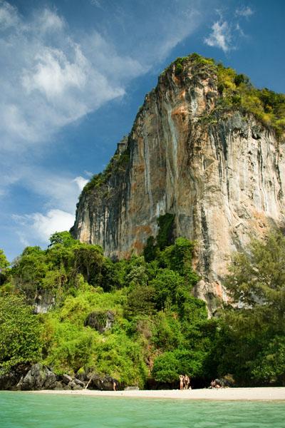 Скала над Вест-Раиле-Бич, Краби / Фото из Таиланда