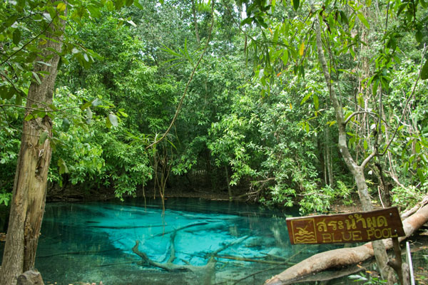 Голубое озеро, Краби / Фото из Таиланда