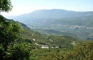 Вид на долину из монастыря / Черногория