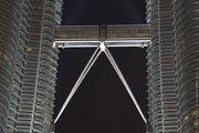 Смотровая площадка ночью / Малайзия