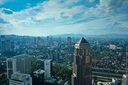 Куала-Лумпур с высоты птичьего полета / Малайзия