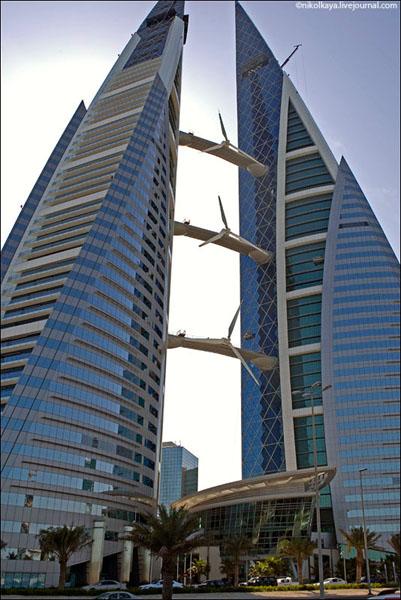 Небоскребы в Бахрейне / Фото из Бахрейна