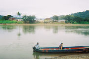 Пограничная река Сиксаола / Коста-Рика