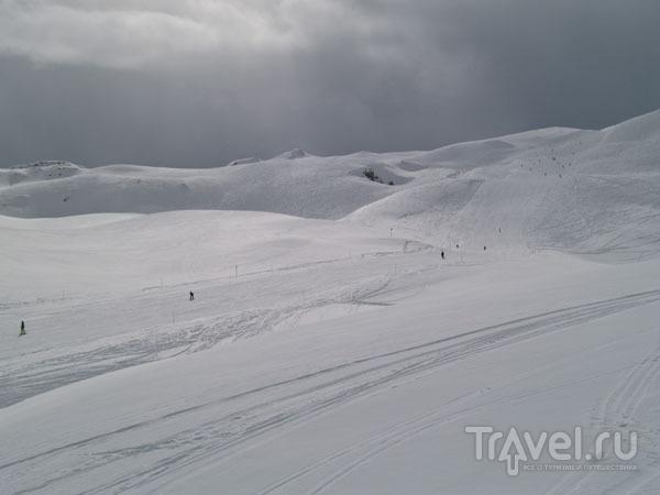 Одна из трасс для новичков в зоне Ski Tranquille / Фото из Франции