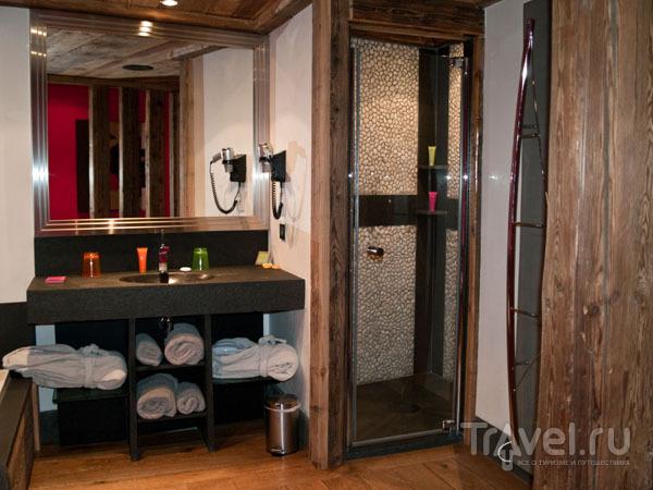 Ванная комната, отель Les Suites du Nevada / Фото из Франции