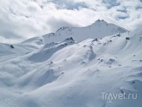 Целинные склоны Тиня / Фото из Франции