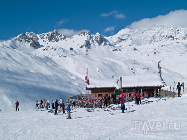 Место отдыха для лыжников и сноубордистов / Фото из Франции