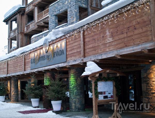Фасад отеля Les Suites du Nevada, Тинь / Фото из Франции