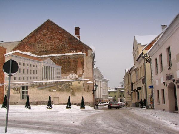 Улицы Тарту - самого древнего города Эстонии / Фото из Эстонии
