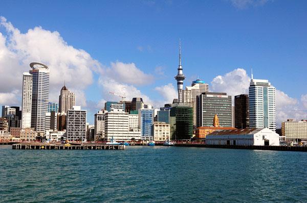Окленд - крупнейший город в Новой Зеландии / Фото из Новой Зеландии