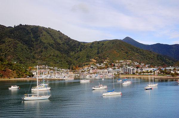 Порт Пиктон на Южном острове / Фото из Новой Зеландии