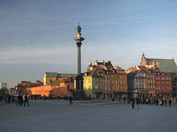 Колонна короля Сигизмунда III Вазы, Варшава / Фото из Польши