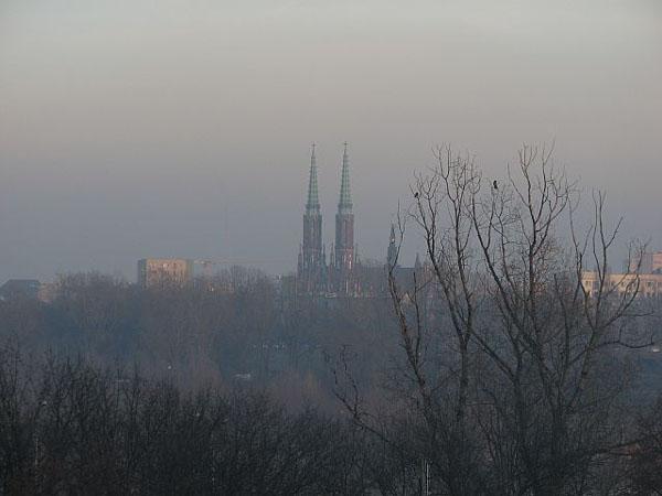Панорама Варшавы со смотровой площадки в Старом городе / Фото из Польши