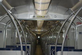 Поезд внутри / Германия
