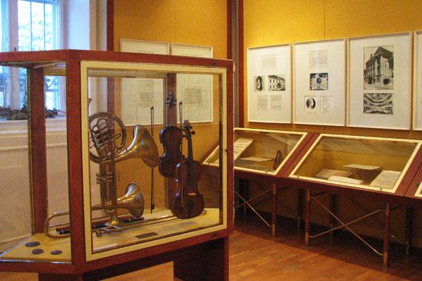 В одной из комнат музея Бетховена, Мартонвашар / Фото из Венгрии