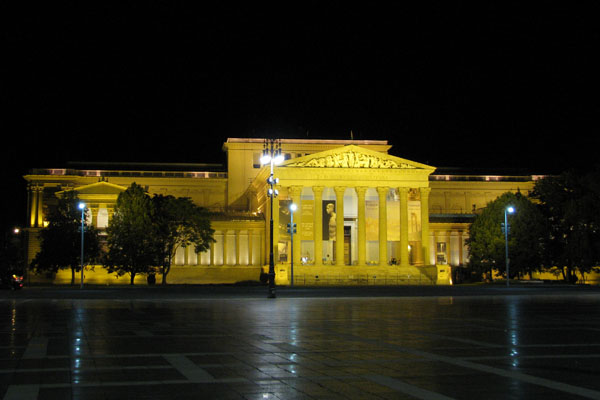 Музей изобразительных искусств, Будапешт / Фото из Венгрии