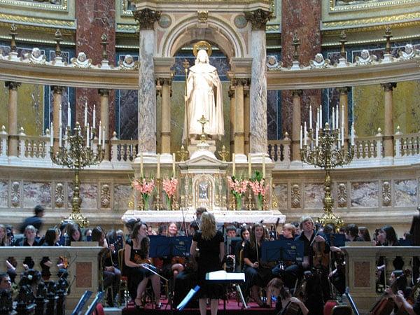 В базилике Святого Иштвана, Будапешт / Фото из Венгрии