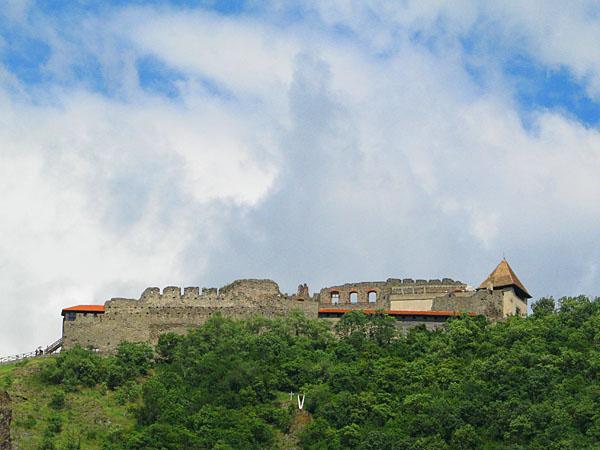 Вид на крепость, Вишеград / Фото из Венгрии